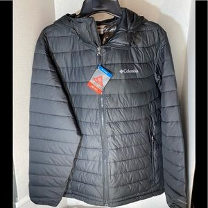 Columbia Power Lite Mens Hooded Jacket Size L